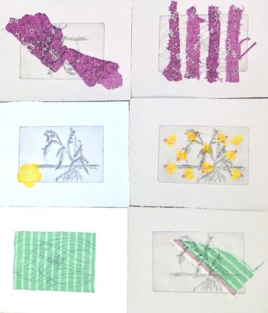 Textile / printmaking