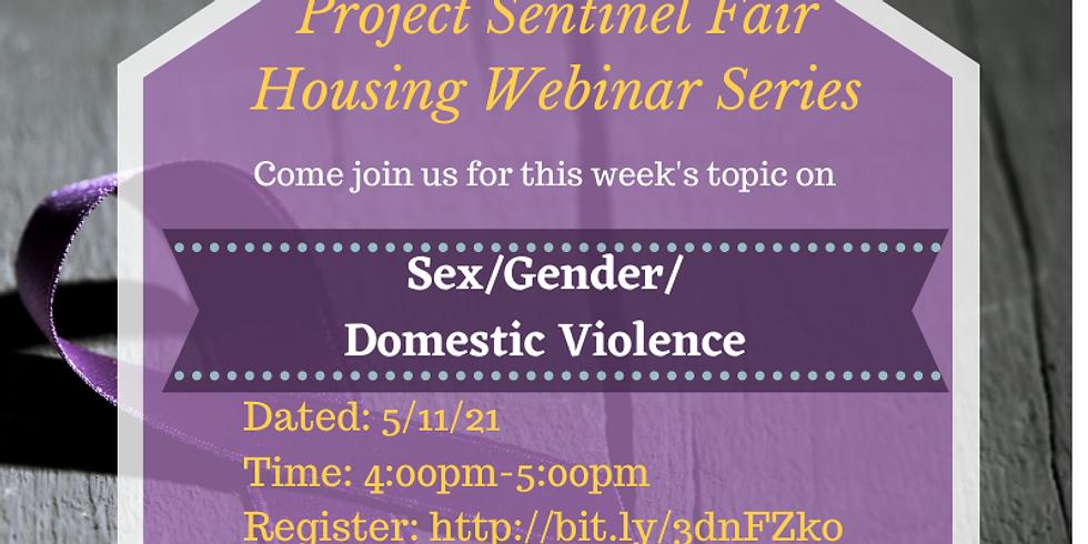 Sex/Gender/ Domestic Violence housing discrimination