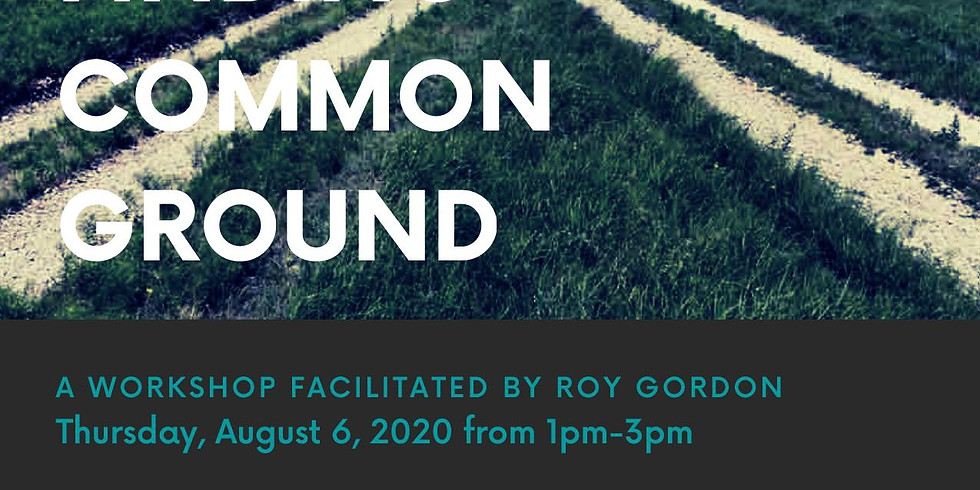 Finding Common Ground - For mediators and PS affiliates only