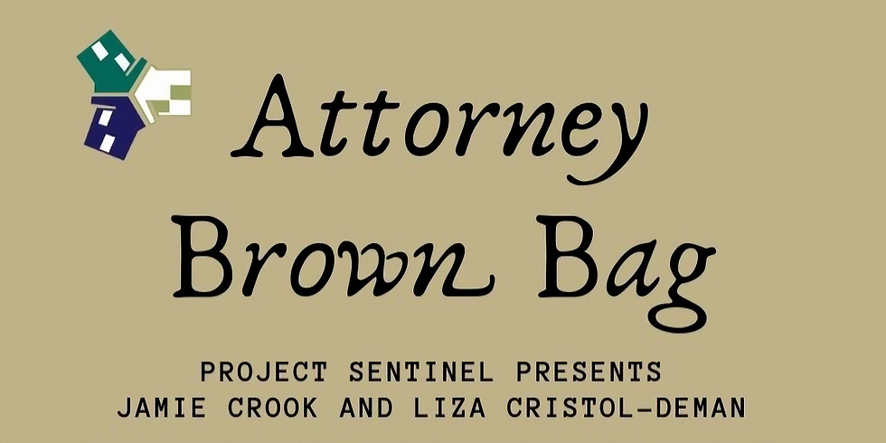 Attorney Brown Bag