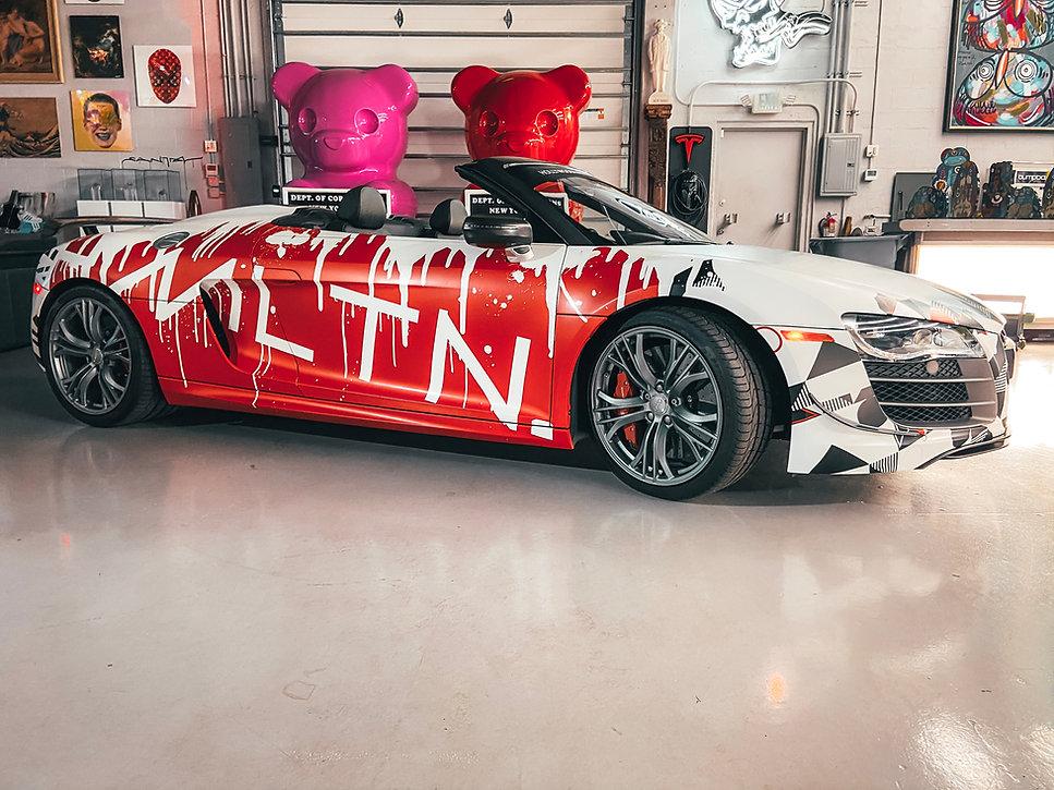 tampa exotic cars vinly wrap hollywood r8 hollywood hamilton clothing