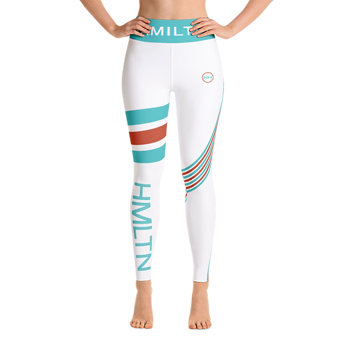 Hollywood Hamilton clothing streetleisure collection constrictor leggings tampa athleisure running tights front view