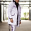 Hollywood Hamilton track parka jacket, hollywood hamilton athletic jacket, white and black jacket