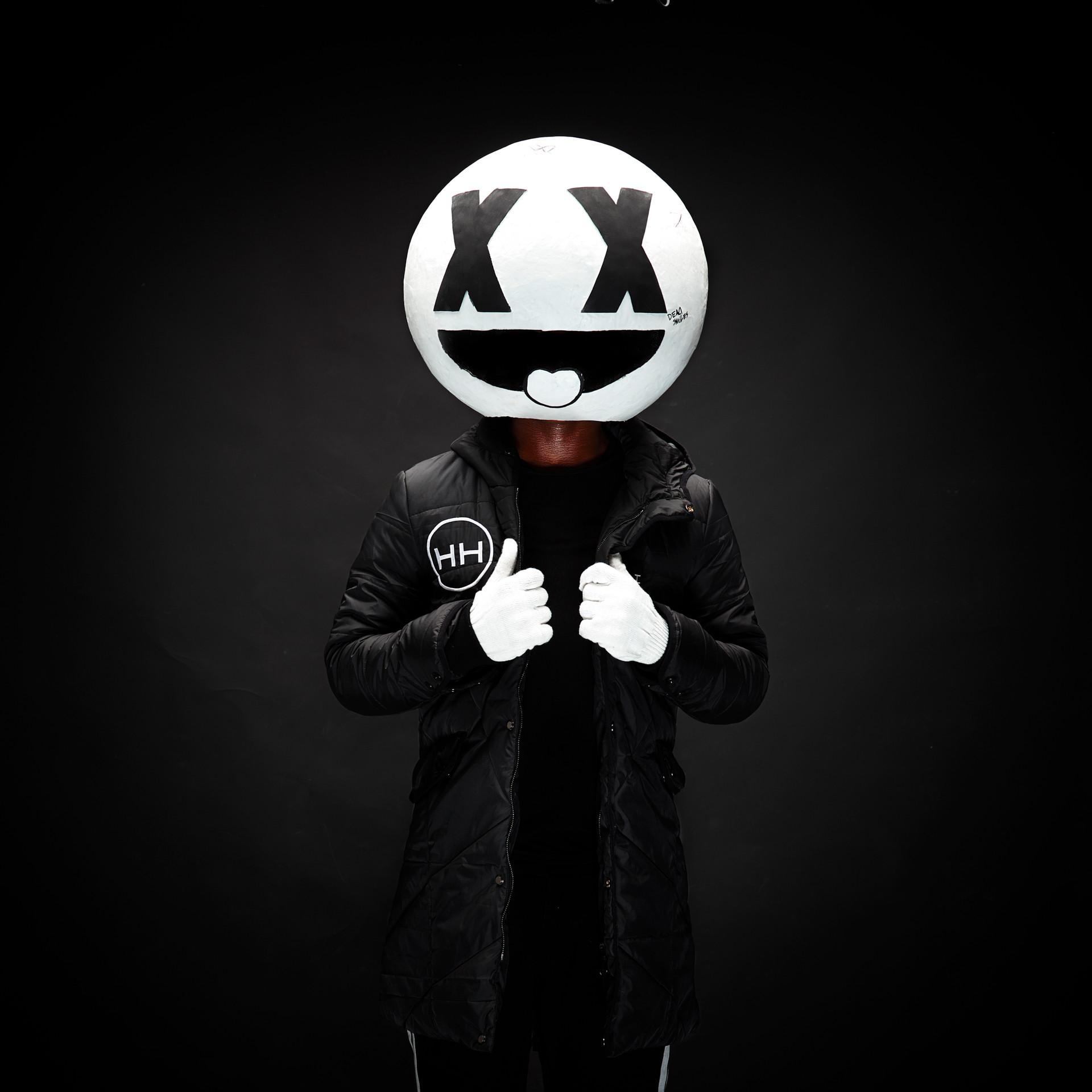 HH x Iboms black hyper parka
