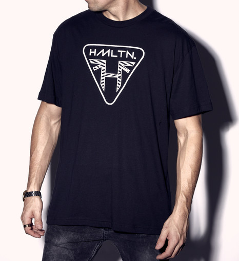 tHH x Triumph Motorcycles collab tee Hollywood hamilton clothing triumph tampa