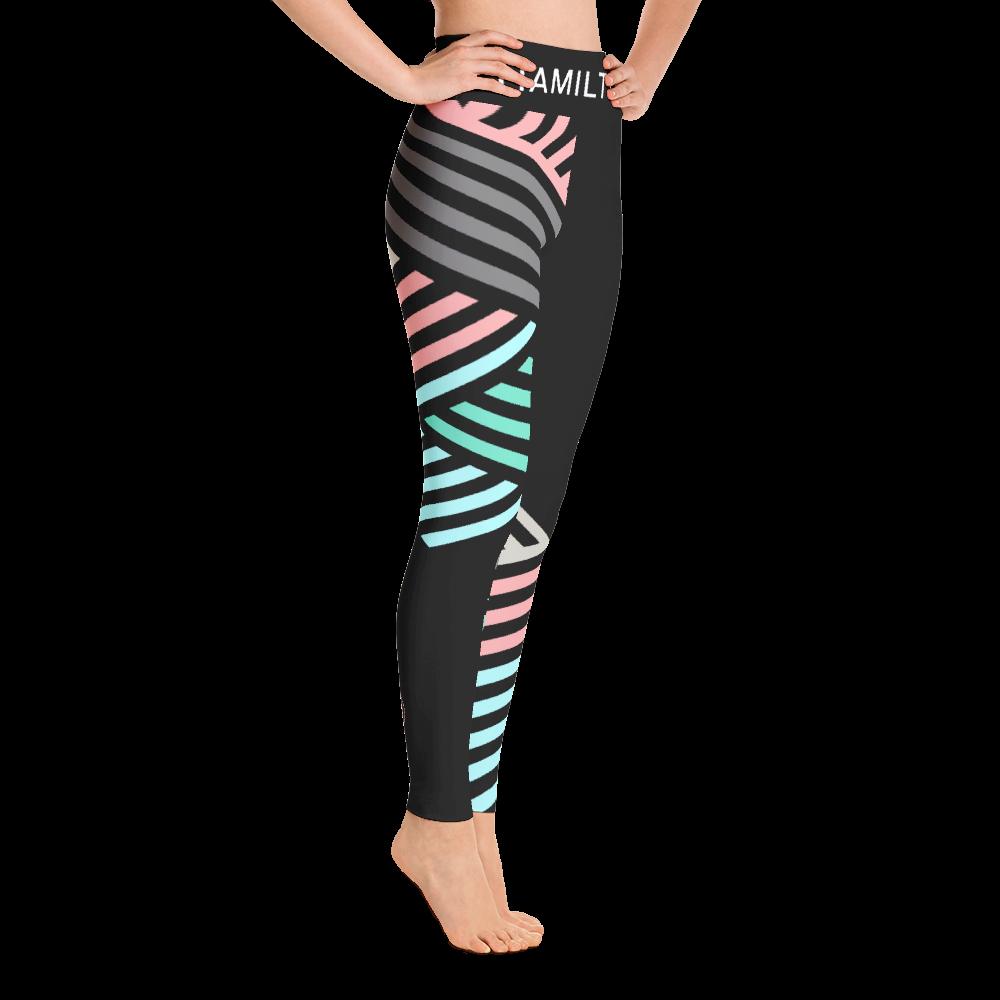 Hollywood Hamilton Clothing Women's Streetleisure Collection 2018 Easter zig zag leggings mock up