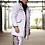side view hyper white parka jacket sport jacket