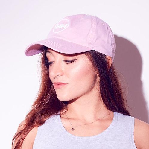 hollywood hamilton streetwear athleisure clothing pink dad hat side profile