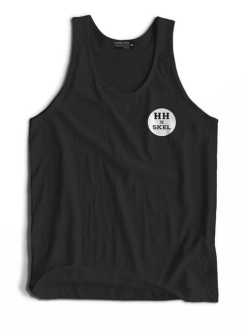 hh x skel front view tank top