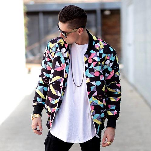 Hollywood Hamilton Abstract Bomber jacket front view
