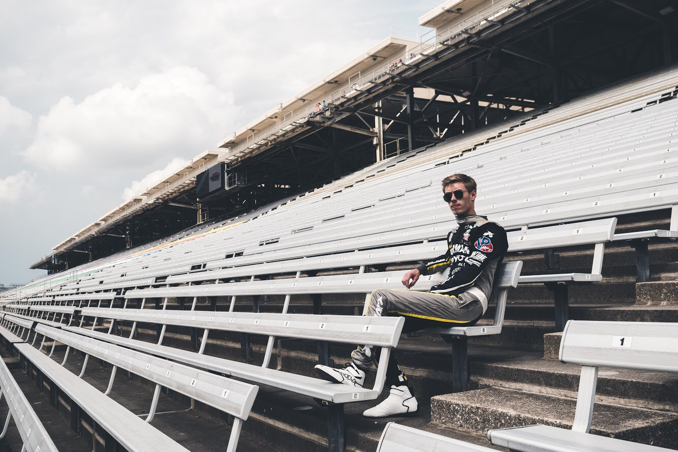 Tampa streetwear brand Hollywood Hamilton Clothing partners with Davey Hamilton Jr. for a collaboration Race t-shirt collection to honor the iconic indy 500 indy lights series.