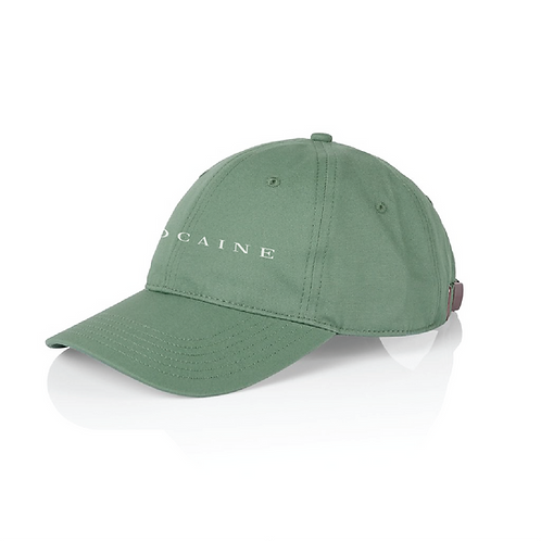 side view sage cocaine dad hat hollywood hamilton