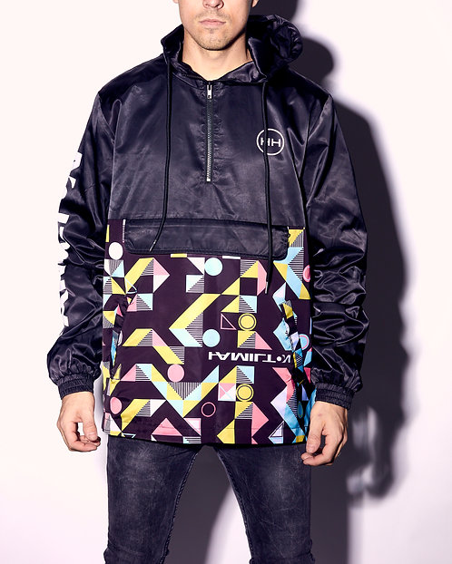 Abstract Windbreaker Hollywood Hamilton front view