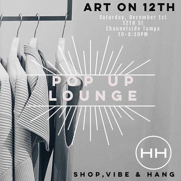 Art on 12th Fashion flyer