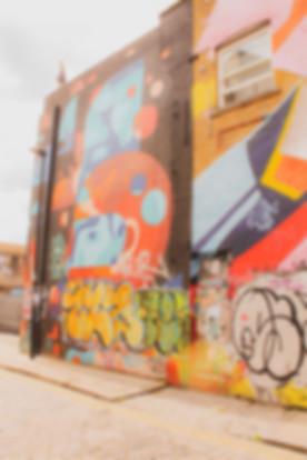 London street art and graffiti art