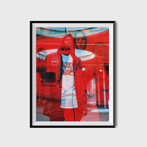 Hyper RGB print by HH x AA.Vision