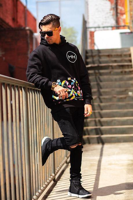 Hollywood Hamilto Abstract hoodie Tampa streetwear