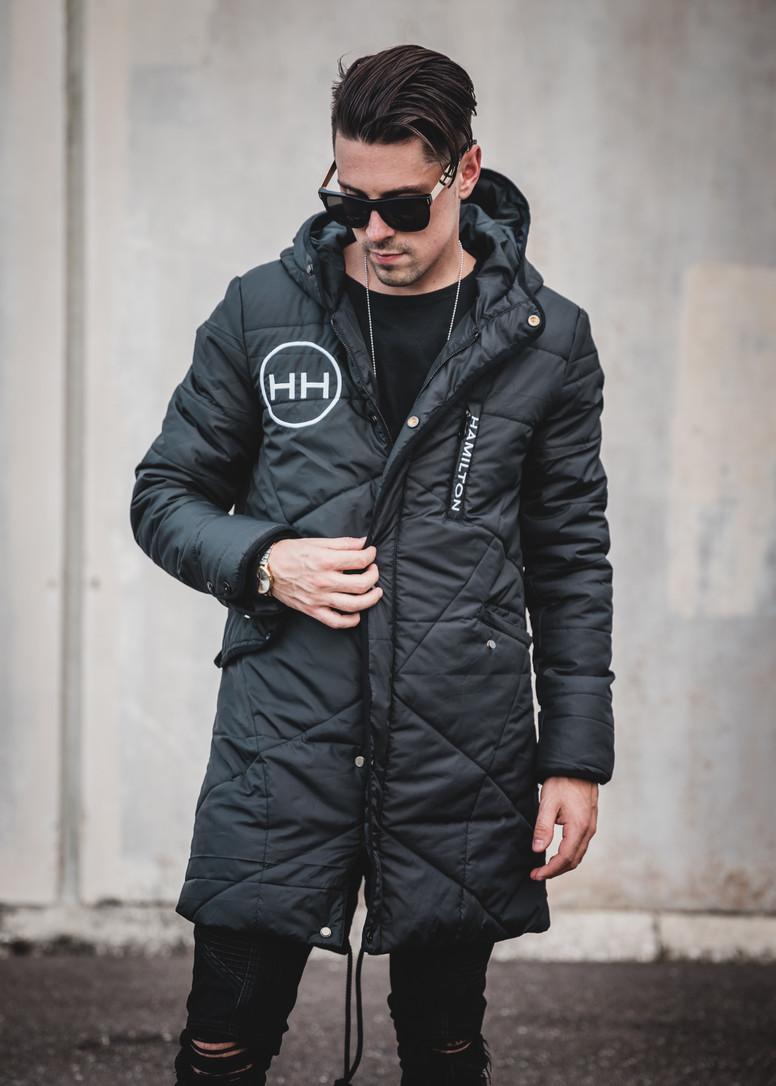 Hollywood Hamilton Hyper parka jacket hyper black tampa streetwear