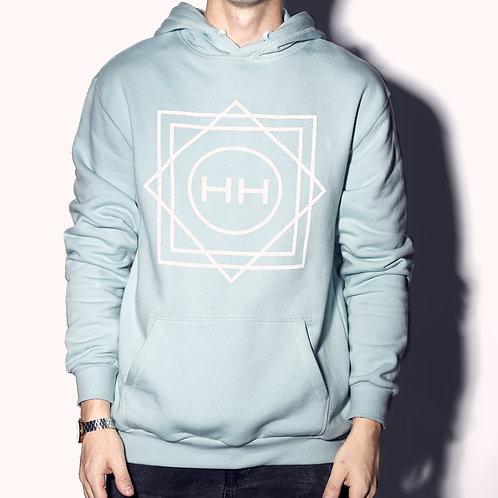 Robins egg blue hoodie Hollywood Hamilton Clothing streetwear hoodie