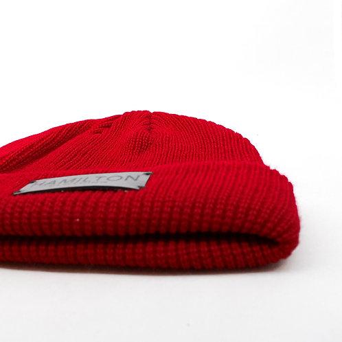 Red Fisherman beanie Hollywood Hamilton Clothing