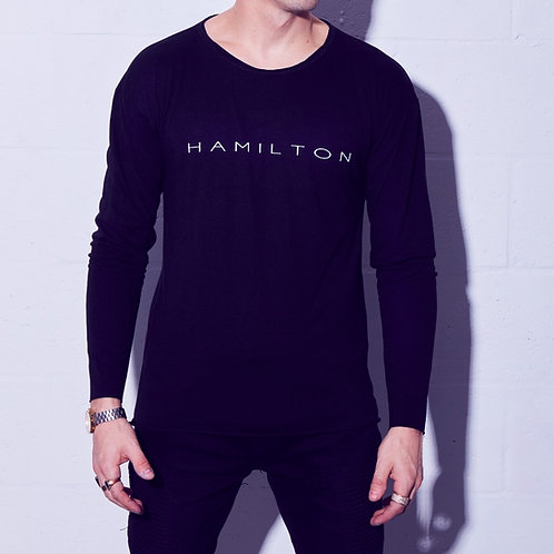 HAMILTON raw neck front view