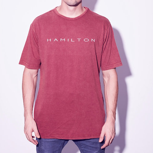 hamilton vintage relaxed tee front view