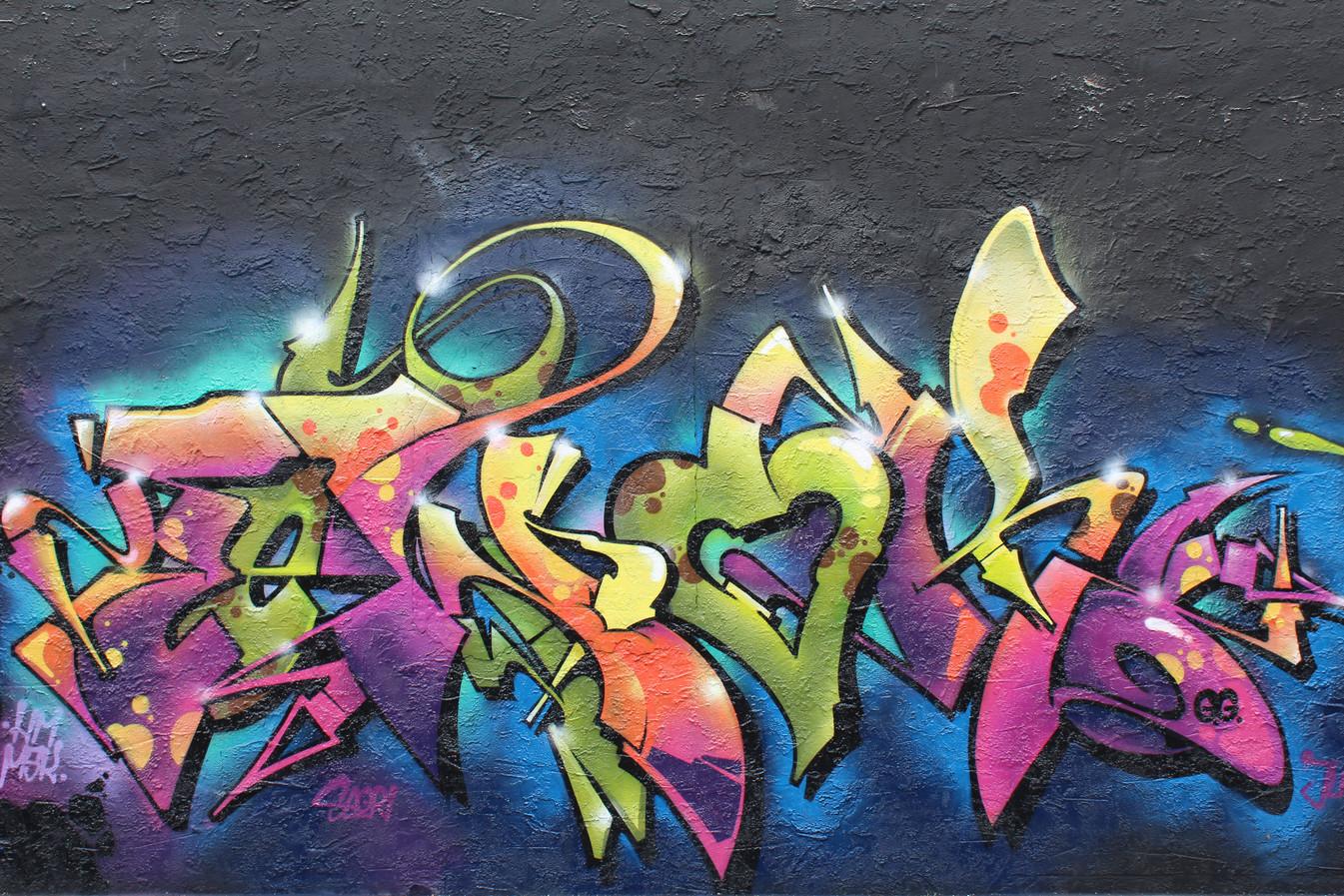 graffiti in wynwood walls