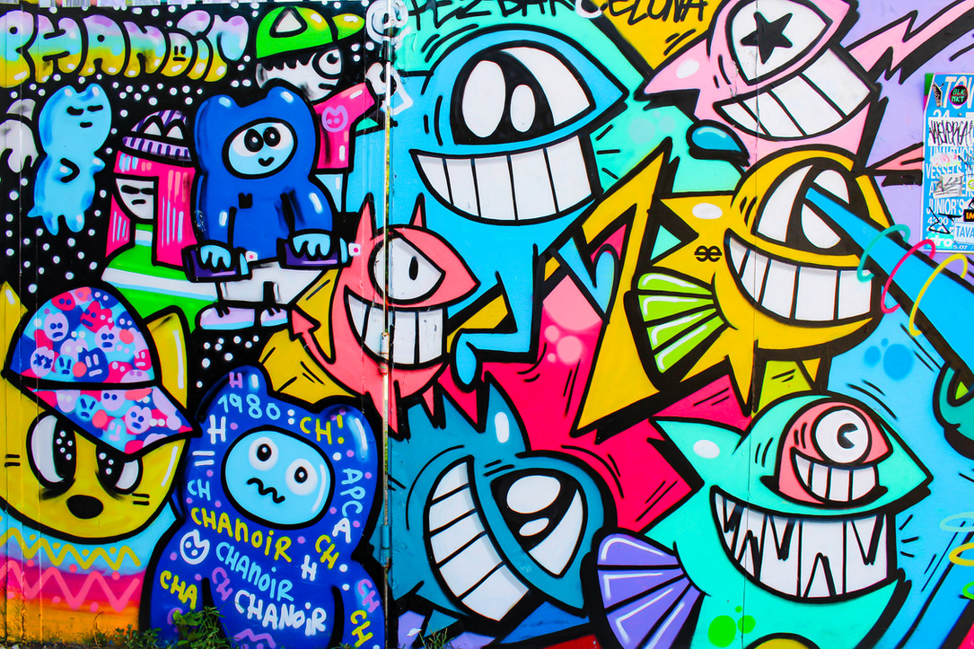 Graffiti pop art miami wnywood graffiti mural street art