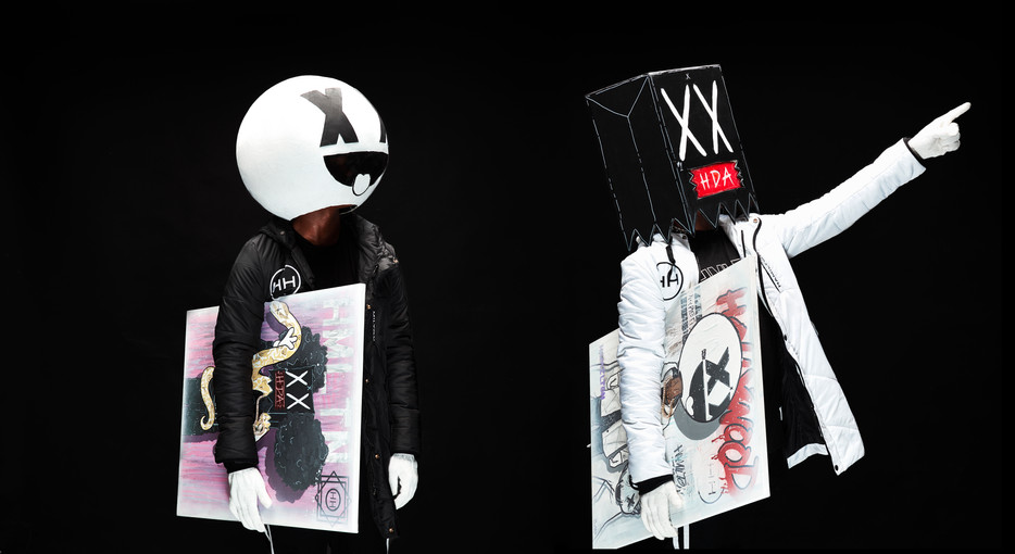 HH and Iboms Hyper Parka and custom art