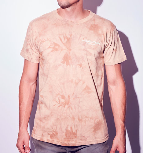 Hollywood Hamilton Sand tie dye t-shirt front