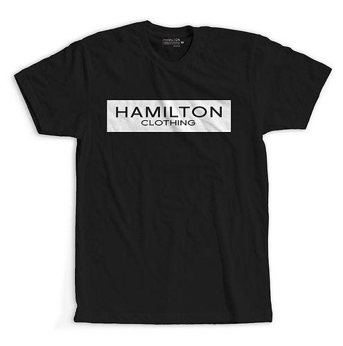 Classic black Hollywood Hamilton clothing tshirt