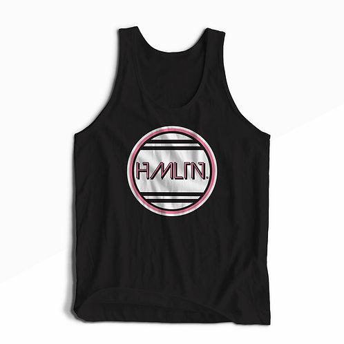 retro miami pink hmltn tank top hollywood hamilton