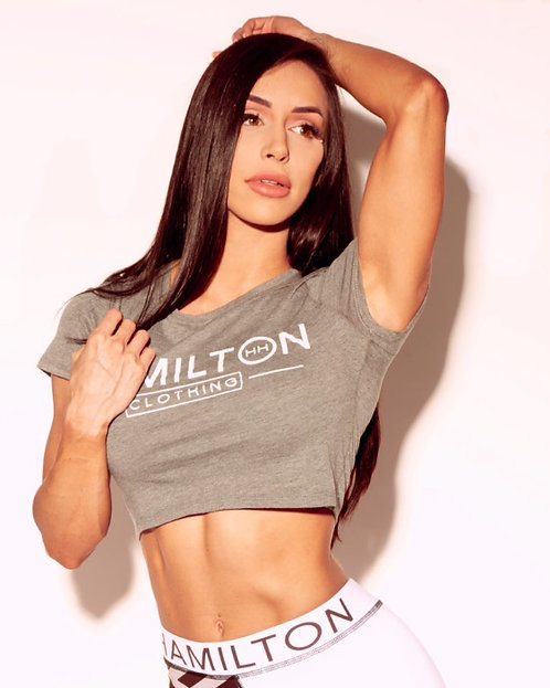 Hollywood hamilton womens athletic crop tee tampa athleticwear womens athletic clothing tampa