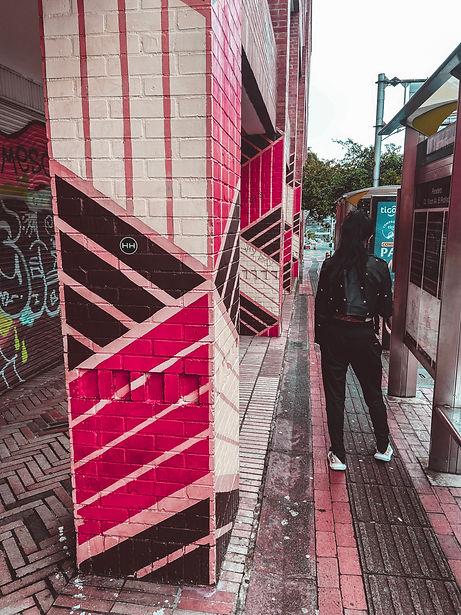 hollywood hamilton street art medellin sticker bomb