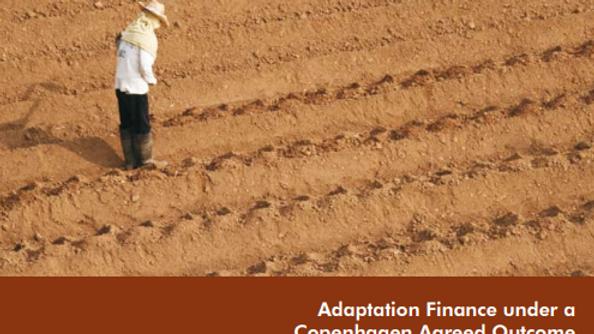 Adaptation Finance under a Copenhagen Agreed Outcome