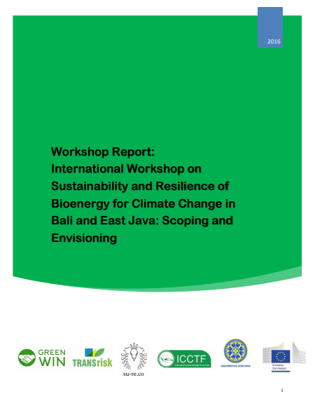 First Bioenergy Workshop Report 2016