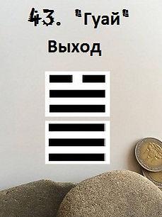 Гексаграмма 43толкование Книги перемен