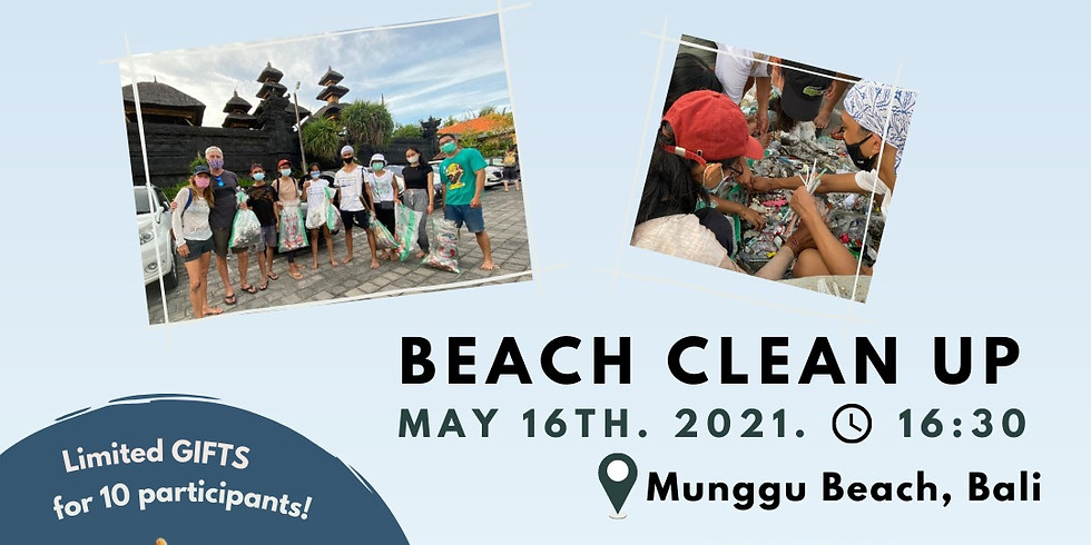 Beach Clean Up in Bali