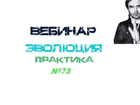 """Вебинар """"Эволюция Практика"""""""
