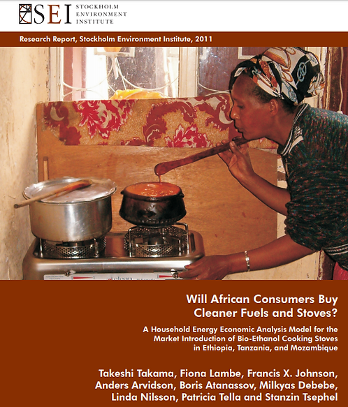 Will african consumers buy cleaner fuels and stoves?