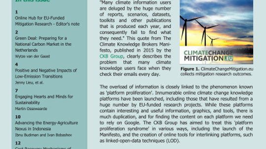 Advancing the Energy – Agriculture Nexus in Indonesia JIQ Magazine December 2016