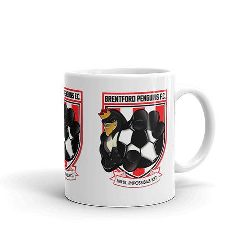Penguin's Original White glossy mug