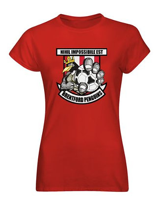 Ladies Fit Brentford Penguins T-Shirt