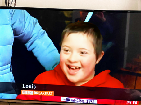Louis and Woody appear on BBC Breakfast!