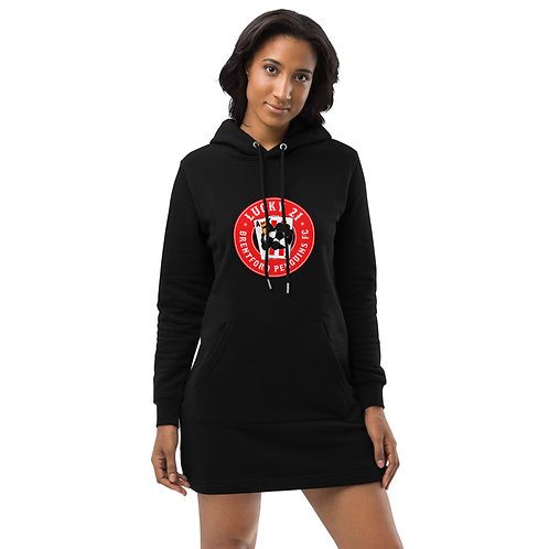 Penguins Lucky 21 (Red Logo) Hoodie dress