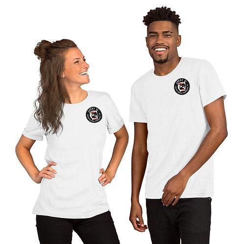 Penguins Lucky 21 (Mini Black Logo) Short-Sleeve Unisex T-Shirt