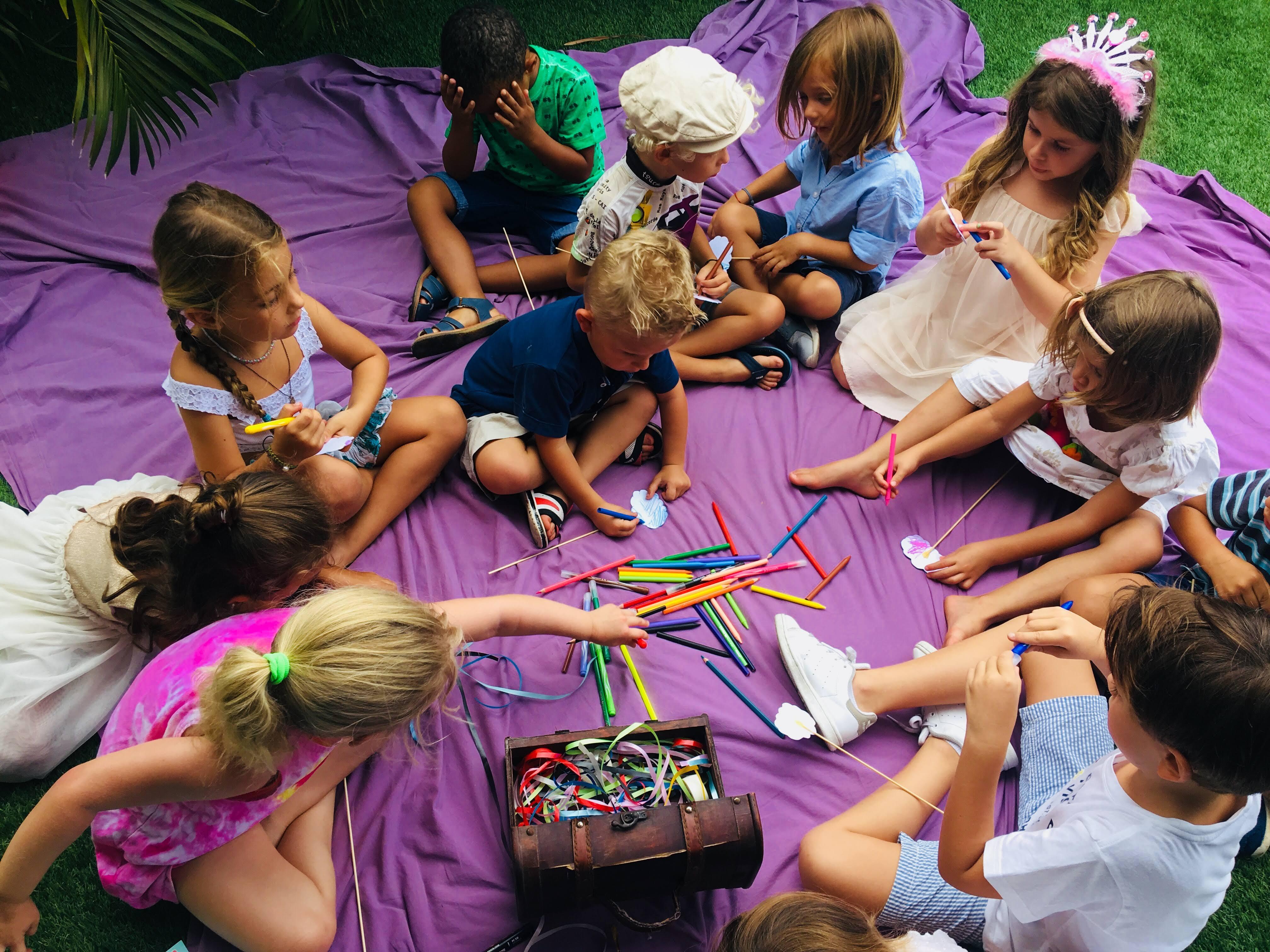Anniversaire Enfant - Énigme collective à résoudre by Magic Events