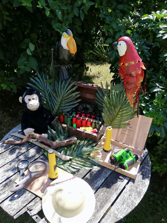 Anniversaire Enfant - Aventure Tropicale by Magic Events
