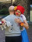 Clownin Sophie für Menschen mit Beeinträchtigung