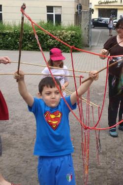 Seifenblasen Superman!!!